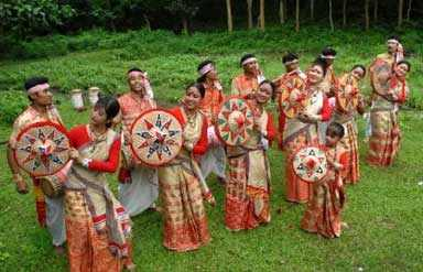 Assam traditional dance