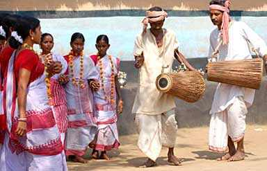 Santhali Folk Dance